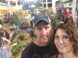 Enjoying the Iowa State Fair last week.